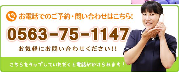 電話番号:0563-75-1147